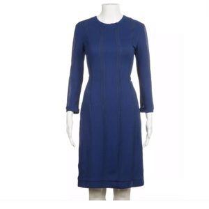 rag & bone blue long sleeve dress 8